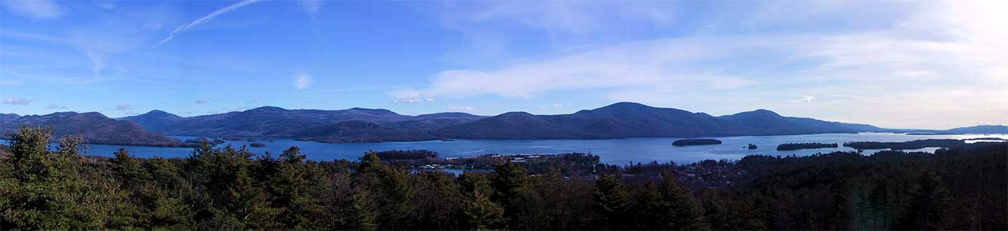 Lake George Panoramic views